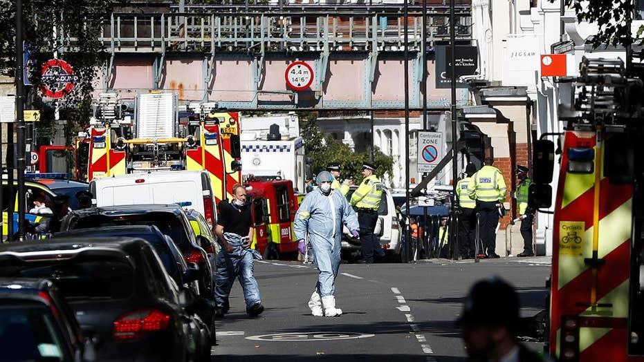 Police: London subway explosion is terrorism