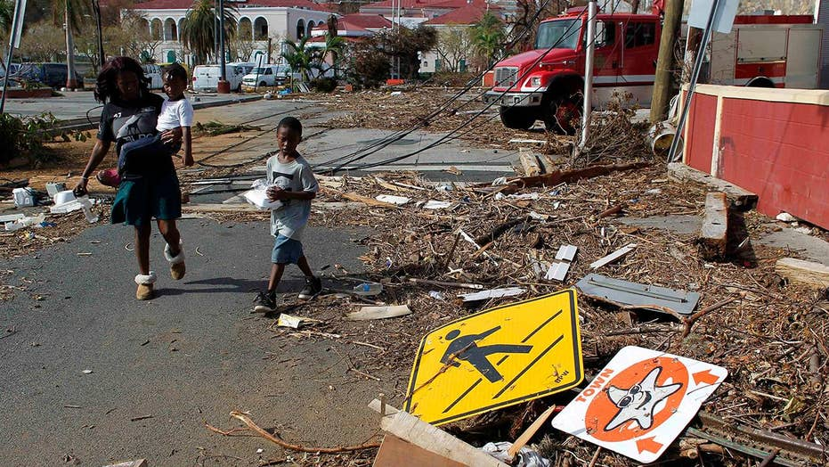 Devastated Virgin Islands begins long road to recovery