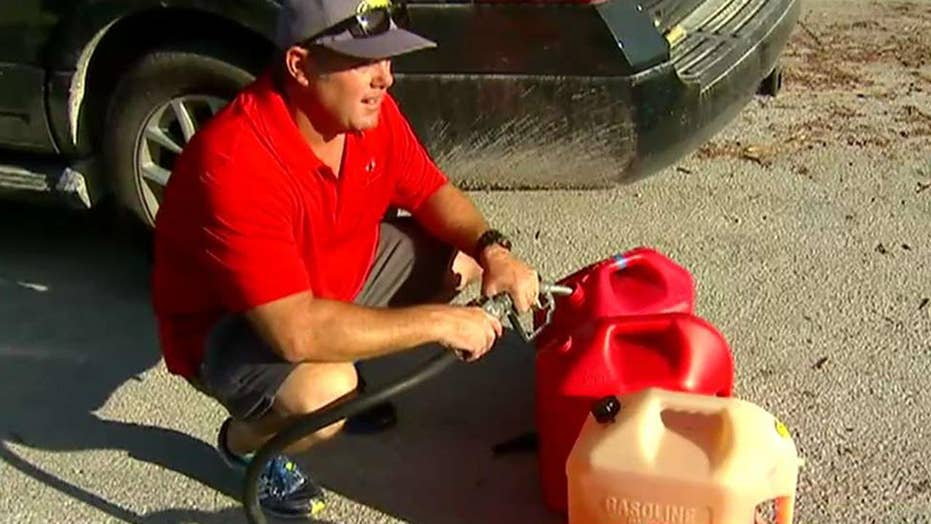 Gasoline, power in short supply in Irma-ravaged Keys