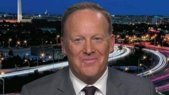 Media mob savages Sean Spicer for an Emmy Joke he saw as harmless fun