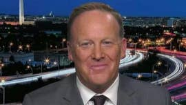 "Former White House Press Secretary Sean Spicer can't name a single CNN reporter he felt did ""good work"" during his time in the Trump administration."