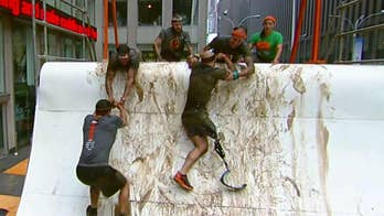 Tough Mudder obstacle course built on 'Fox & Friends' plaza