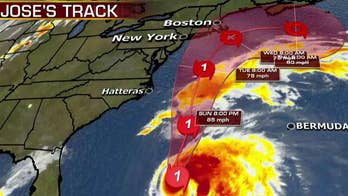 Storm could make landfall along the northeast coast of the U.S.