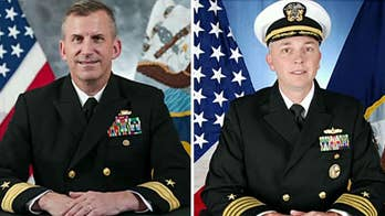 Commander of the U.S. 7th Fleet fired Rear Admiral Charles Williams and Captain Jeffrey Bennett due to 'loss of confidence in their ability to command'