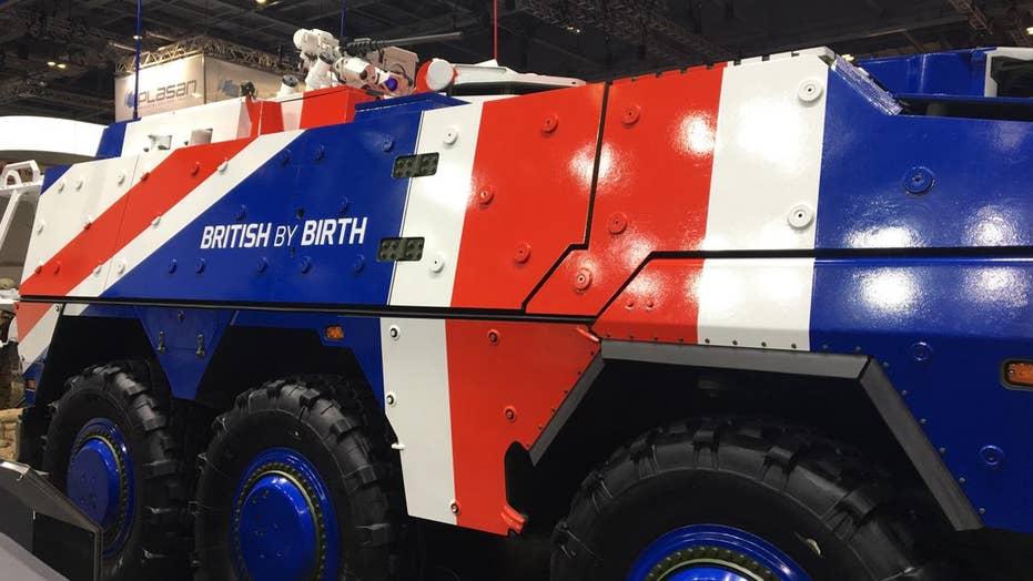 DSEI: Top tank tech on display