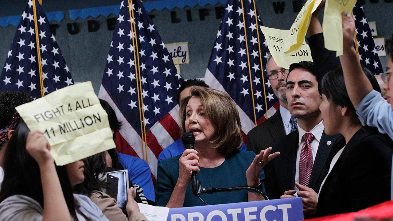 Pelosi latest Dem facing backlash from liberal base for Trump dealing