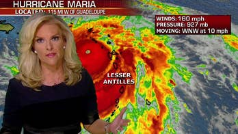 Powerful storm batters Caribbean two weeks after Hurricane Irma; senior meteorologist Janice Dean is tracking the hurricane from the Fox Extreme Weather Center