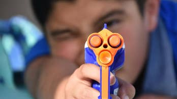 Doctors in London are warning parents about the dangers posed by Nerf guns after treating several eye injuries