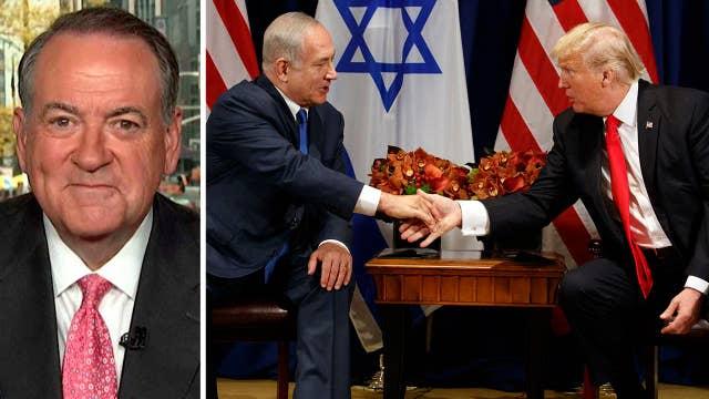Huckabee talks significance of Trump-Netanyahu relationship
