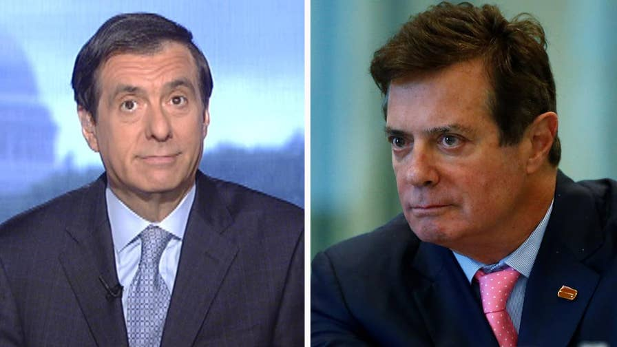 'MediaBuzz' host Howard Kurtz weighs in on the back-to-back breaking stories on Trump's former campaign chairman, Paul Manafort