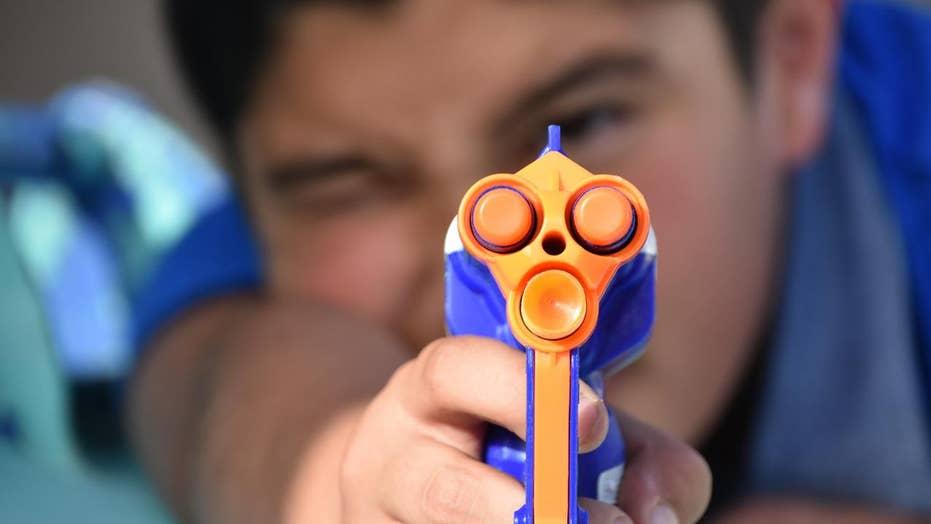 Nerf guns can cause serious eye injuries, doctors warn