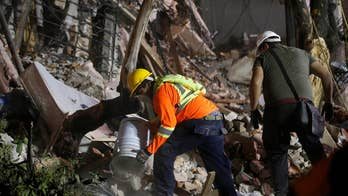 A powerful 7.1-magnitude earthquake shook Mexico killing at least 200 people with the death toll expected to continue rising.  Rescue workers and volunteers are scrambling to find survivors under the rubble.  See the dramatic images of the quake devastation.