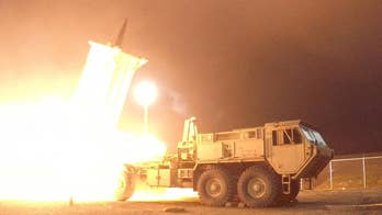 THAAD missile defense system is designed to buy time for a military response to an attack, but would be overwhelmed by hundreds of North Korean missiles; Jennifer Griffin reports on 'Special Report'