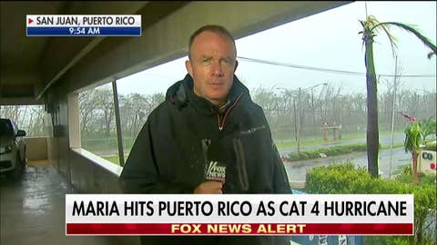 Steve Harrigan reports on Hurricane Maria in Puerto Ric