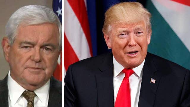 Newt Gingrich analyzes Trump's 'remarkable' UN speech