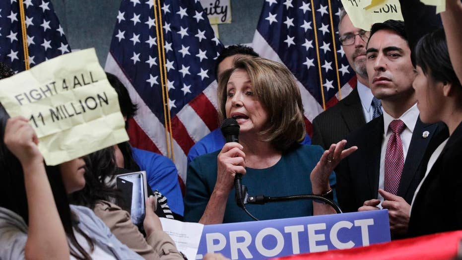 Who's to blame for the hostility Pelosi is facing?