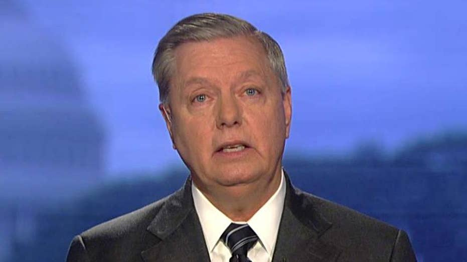 Sen. Graham makes his case for the Graham-Cassidy bill