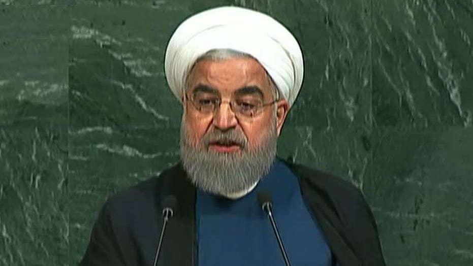 Rouhani slams President Trump over Iran nuke deal
