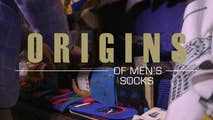 When did vivid colors, bold and even weird prints become the norm for men's socks? Find out the history in the latest installment of Fox's 'Origins' series