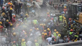 Rescuers raced to free a trapped schoolgirl in Mexico City on Thursday after they spotted her tiny fingers wiggling under the ruins, providing a glimmer of hope they could find more survivors after a magnitude 7.1 earthquake killed more than 230 people.