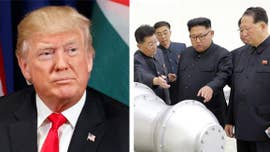 "President Trump signed an executive order Thursday targeting North Korea's trading partners, calling it a ""powerful"" new tool aimed at isolating and de-nuclearizing the regime."