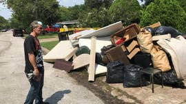 Three weeks after Hurricane Harvey made landfall, Texans who first endured storm-force winds followed by historic flooding now have another mountainous problem on their hands: millions of tons of garbage.