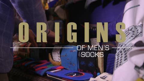 How did the bold men's socks revolution happen?