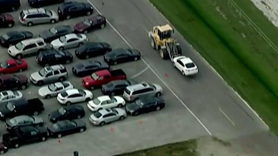 Over 500,000 cars abandoned after Harvey