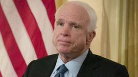 Sen. John McCain announced his opposition Friday to Republican colleagues' last-ditch ObamaCare overhaul bill, dealing a major blow to GOP leaders' push to pass repeal legislation under President Trump.