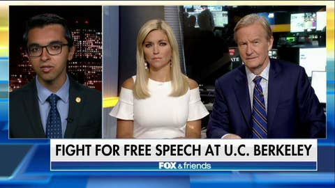 "Conservative Berkeley student talks ""Free Speech Week"""