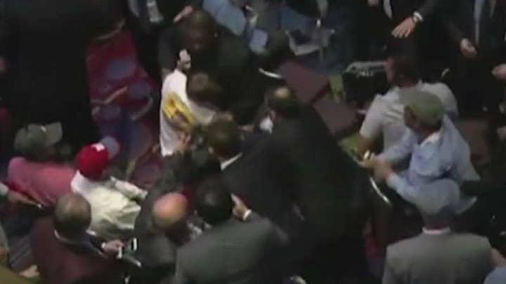 Speech by Turkish leader Erdogan turns violent in NYC