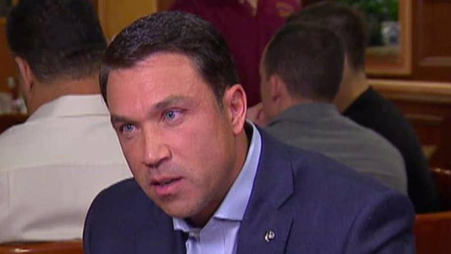 Michael Grimm was a rising star in the Republican Party before scandal struck and he served seven months in a minimum security federal prison camp