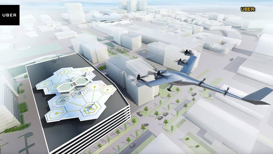 Uber's flying taxis project: First look