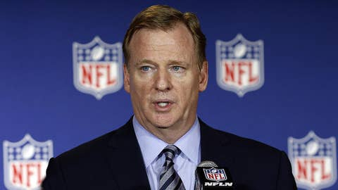 NFL commissioner defends players after Trump comments