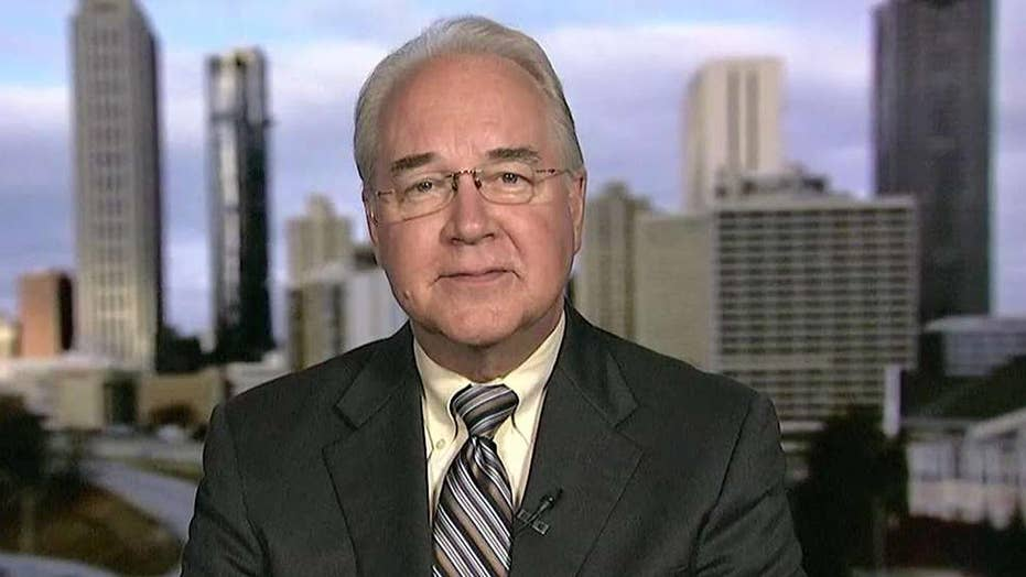 Sec. Tom Price on health care bill, private plane use