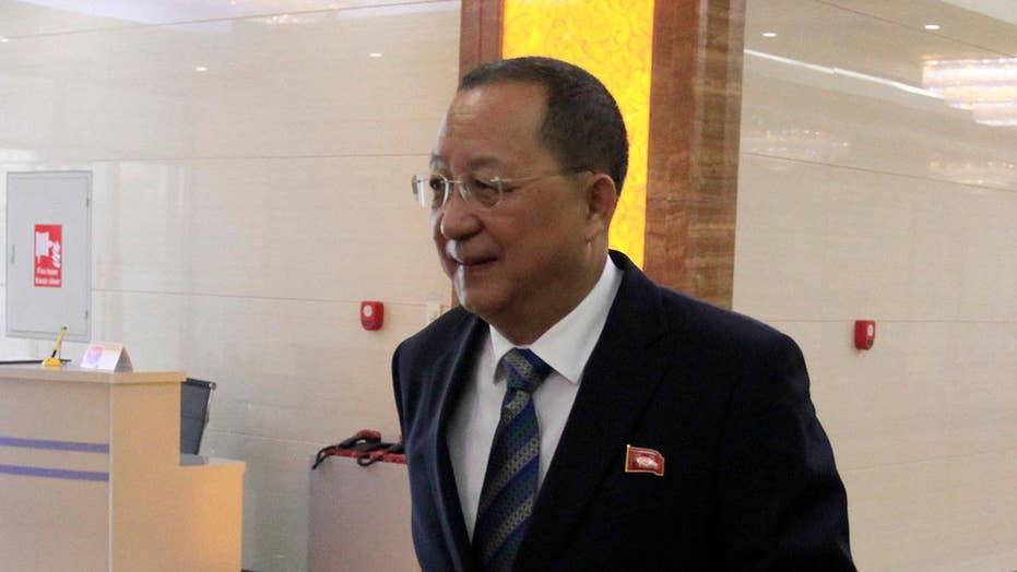 North Korean foreign minister rebukes Trump at UN