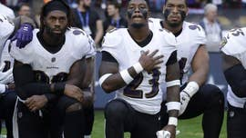 As more than 100 NFL players protested during the singing of America's national anthem across the country Sunday, what had been a small protest of the way police treat African-Americans turned into a much larger protest directed at President Trump.