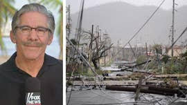 "When Hurricane Maria took aim at the already Hurricane Irma-battered island commonwealth of Puerto Rico, Geraldo Rivera said he was filled with despair. ""How much can these poor people take?"""