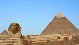 New evidence proves that the ancient Egyptians constructed the Great Pyramid at Giza by transporting 170,000 tons of limestone in boats.