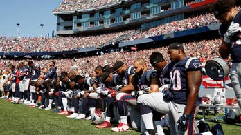 Todd Starnes calls NFL players protesting President Trump by taking a knee during the national anthem cowards