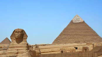 Egyptian officials investigating couple's 'nude art' on top of 455-foot Great Pyramid