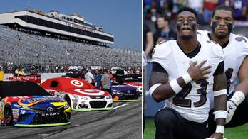 President Trump continued to bash NFL players for kneeling while praising NASCAR for defending the national anthem over the weekend. Several NASCAR owners said they would fire any of their drivers who protest