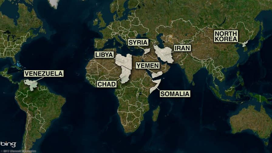 The Trump administration announced new travel restrictions for eight countries.  Here's how it compares to President Trump's previous controversial travel ban and what it means for foreign travelers.