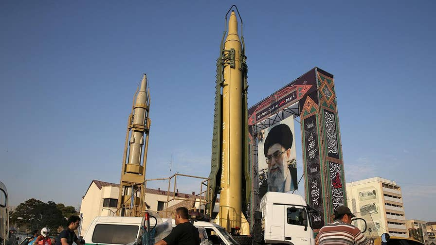 Iranian state television claimed footage showed the launch of a new type of medium-range ballistic missile; U.S. officials say footage is from failed launch in late January