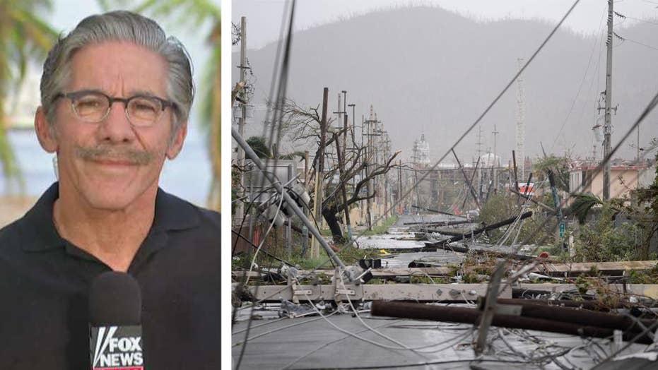 Geraldo Rivera shows aftermath of Hurricane Maria