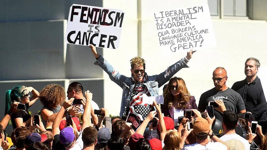 Berkeley's free speech week appears to fall apart