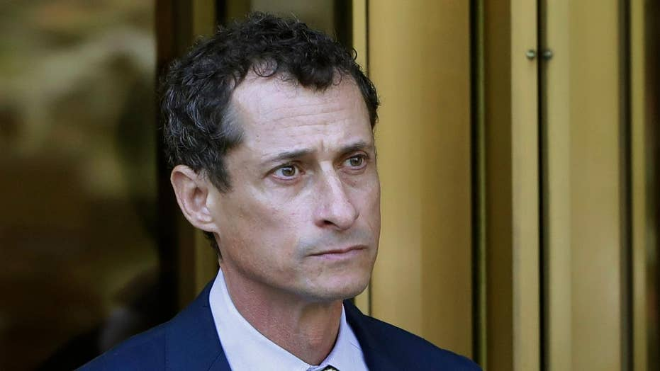 Anthony Weiner sobs as judge issues sentence