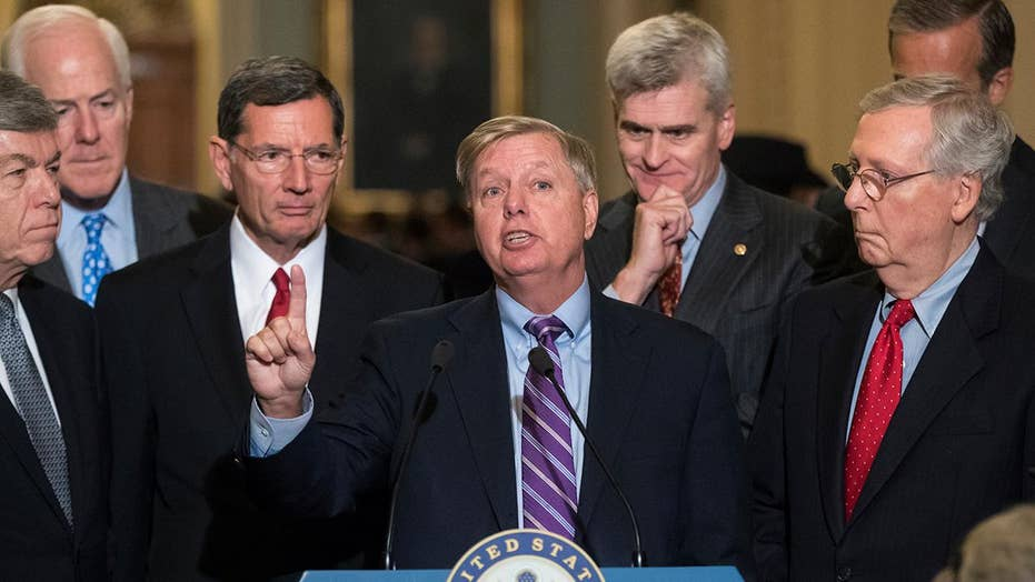 GOP leaders searching for path to 50 votes on Cassidy-Graham