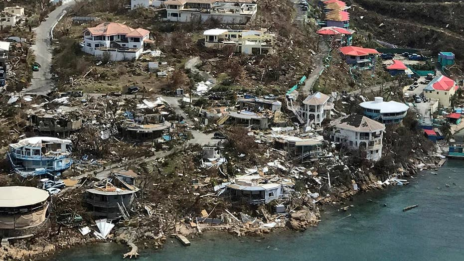 US military provides relief in Virgin Islands