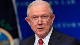 "Attorney General Jeff Sessions said Tuesday that his Justice Department will enter the legal fight over free speech on college campuses, as he delivered a blistering speech at Georgetown University Law Center declaring freedom of thought and speech is ""under attack."""